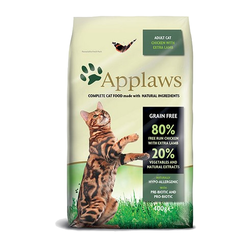 Applaws Cat dry adult lamb 400g