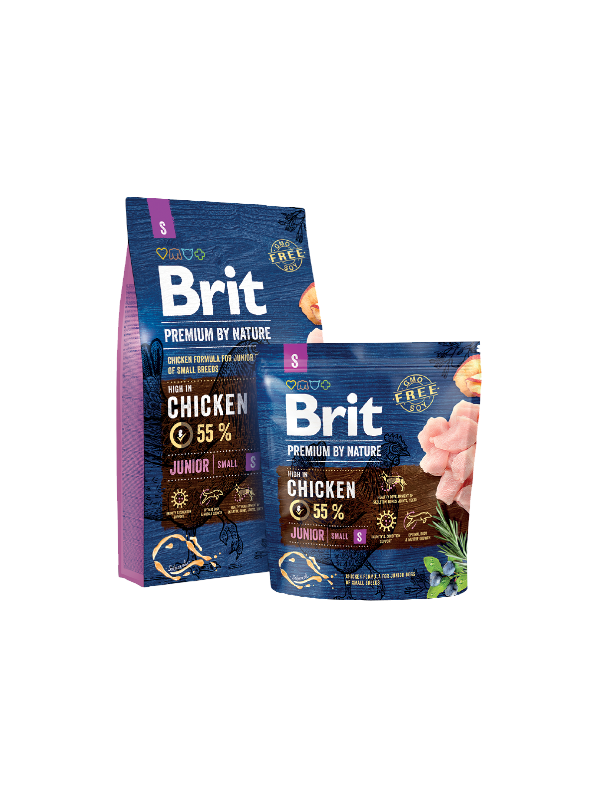 Brit premium By Nature Junior Small 8kg