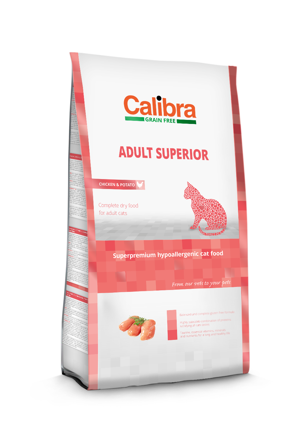 Calibra Cat GF Adult Superior Chicken&Salmon  7kg