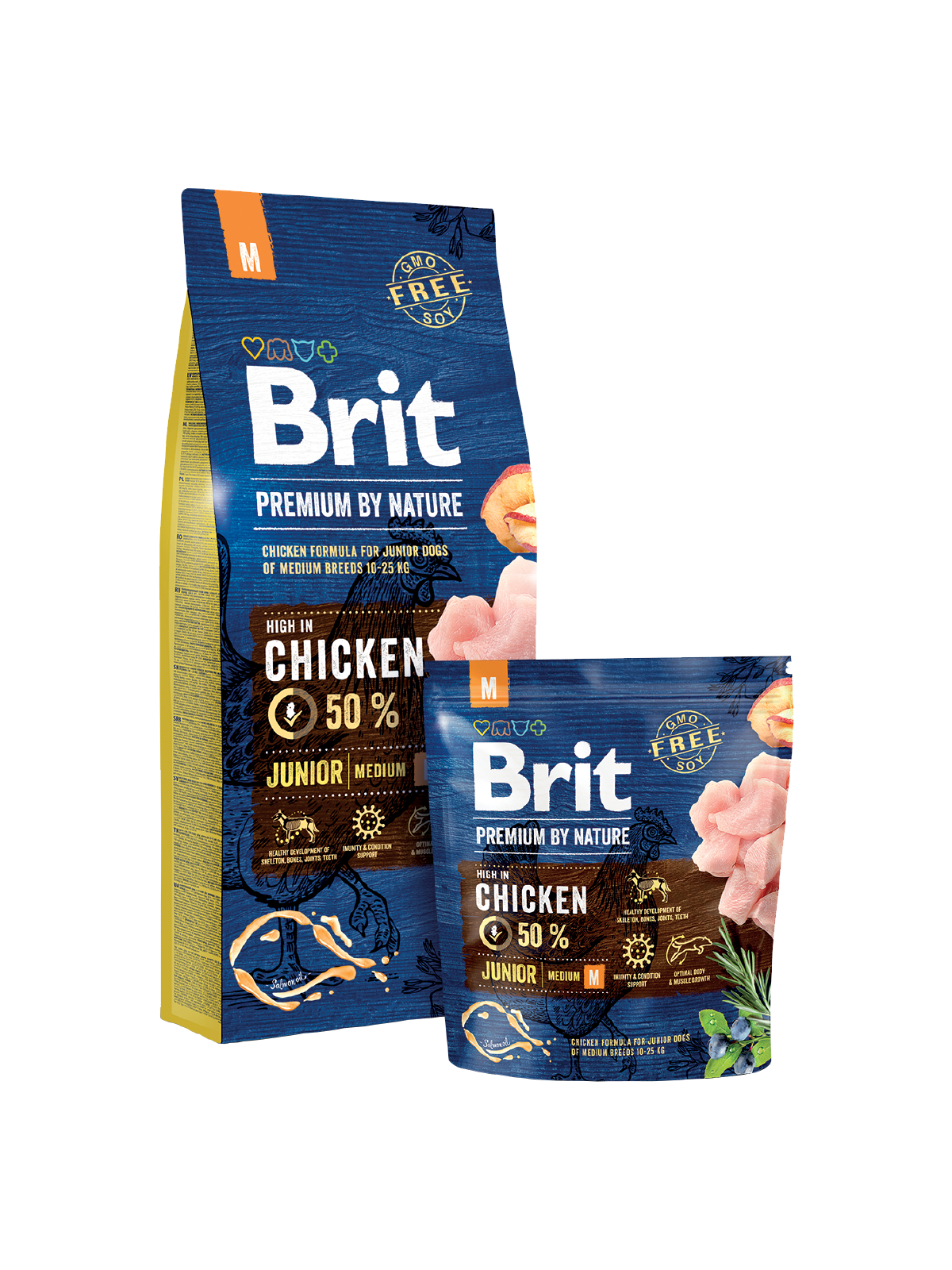 Brit premium by Nature Junior Medium 1kg