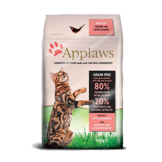 Applaws cat dry adult salmon 400g