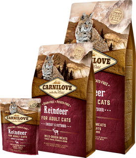 Carnilove Cat Reindeer Adult Energy&Outdoor 2kg