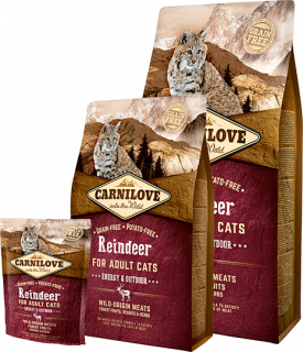 Carnilove Cat Reindeer Adult Energy&Outdoor 400g
