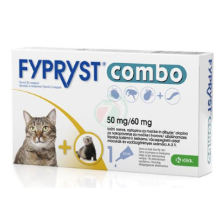 Fypryst Combo spot on cat 50/60mg