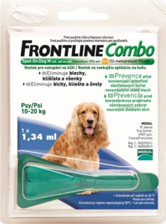 Frontline Combo spot on Dog M 10-20kg
