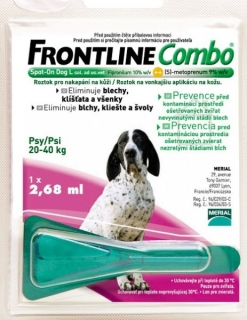 Frontline Combo Spot on Dog L 20-40kg