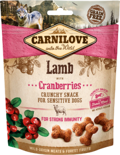 Carnilove Crunchy snack Cranberries 200g