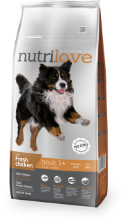 Nutrilove Fresh chicken Adult Large 12kg