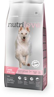 Nutrilove Sensitive lamb&rice Adult 12kg