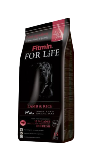 Fitmin dog for life lamb&rice 3kg