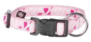 Obojek rose heart Trixie L-XL