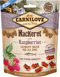 Carnilove Dog Crunchy Snack Mackerel&Raspberries 200g