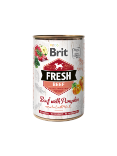 Brit Dog Fresh konz. Beef with Pumpkin 400g