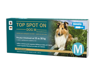 Top Spot ON Dog M 15-30kg
