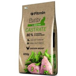 Fitmin cat Purity Castrate 400g