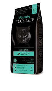 Fitmin cat for life castrate 400g