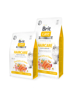Brit Care Cat GF Haircare Healthy&Shiny Coat 2kg