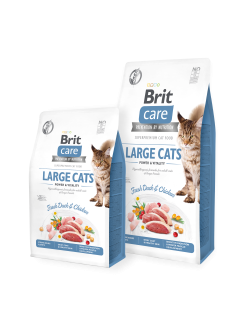 Brit Care Cat GF Large cats Power&Vitality 2kg