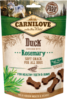Carnilove Dog Soft Snack Duck&Rosemary 200g