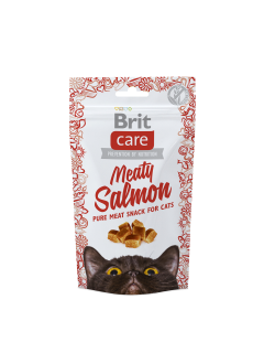 Brit care meaty salmon 50g