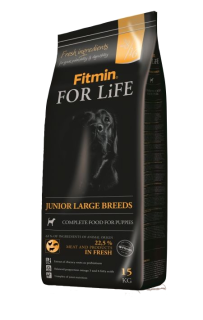 Fitin dog for life junior large 15kg